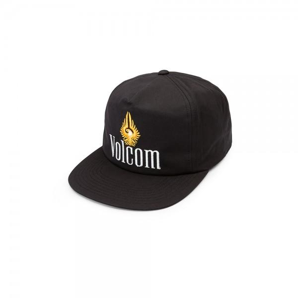 наклейки на сноуборд volcom let it storm stomp black Volcom Бейсболка Volcom Dorado Black