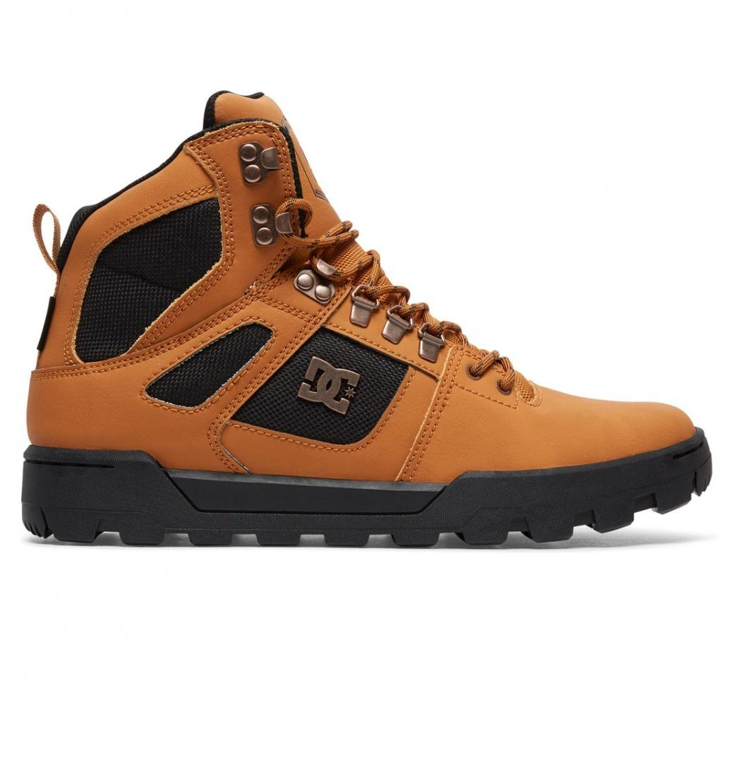 DC SHOES Ботинки DC shoes Spartan High Boot WHEAT/DK CHOCOLATE, , FW17 9 dc shoes зимние кеды dc shoes spartan high wc wnt black olive fw17 9