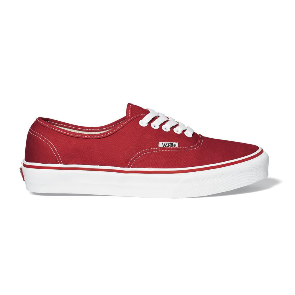 цены Vans Кеды Vans Authentic RED US 10.5