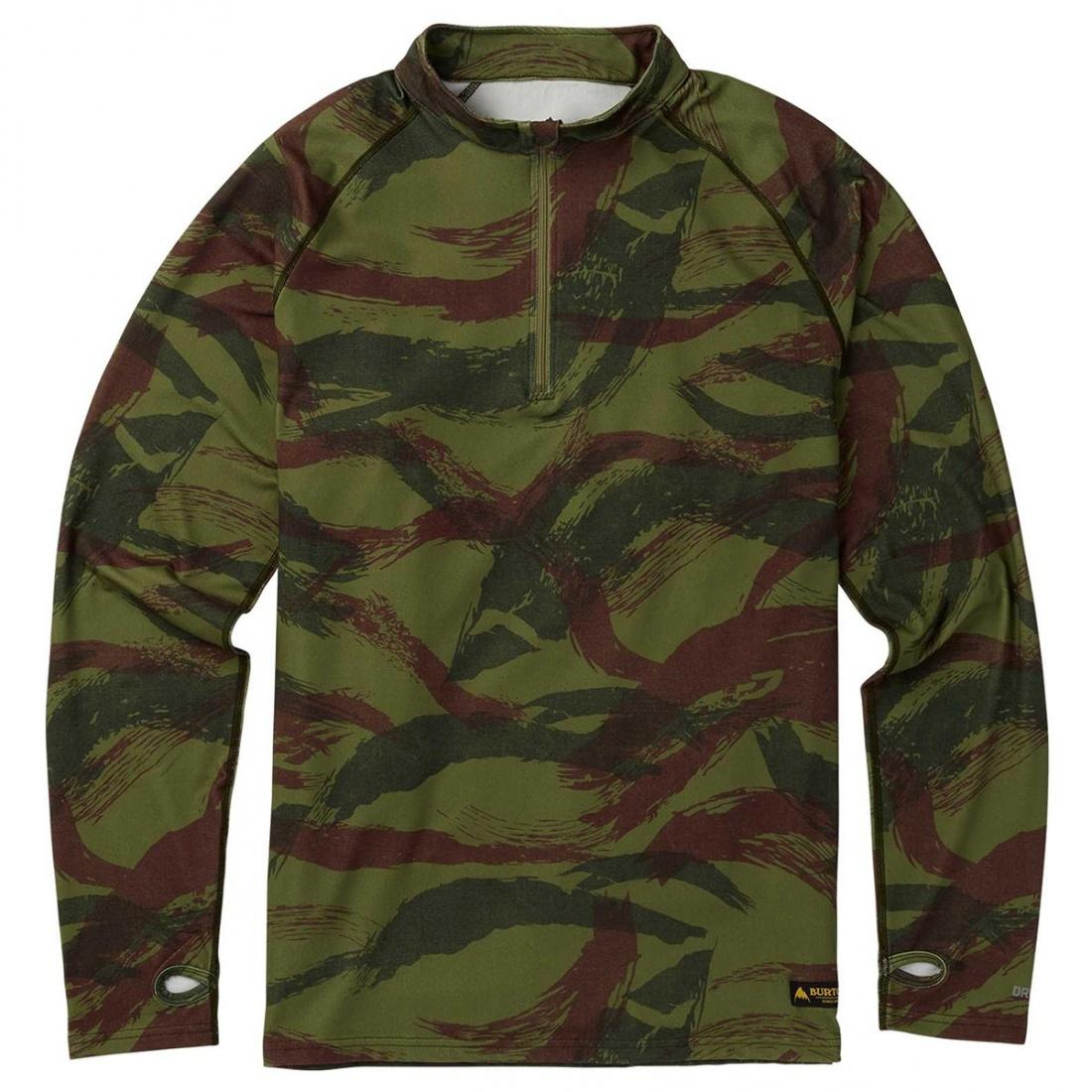 Burton Термобелье Burton Expedition 1/4 Zip Base Layer BRUSH CAMO, , , FW18 L burton термоноски burton party sock wings fw18 l