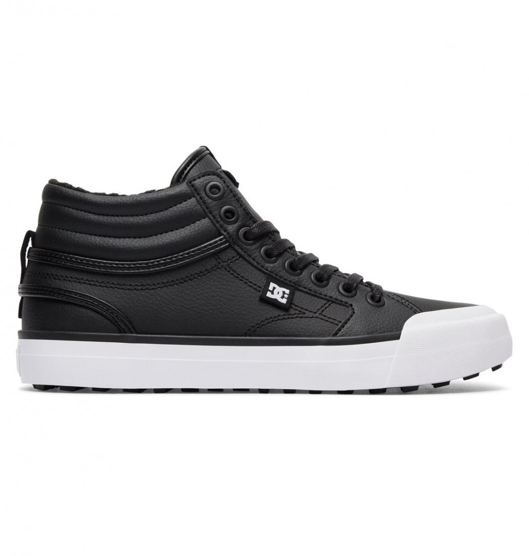 DC SHOES Зимние кеды DC shoes Evan Hi WNT BLACK/WHITE/BLACK, , FW17 6.5 dc shoes зимние кеды dc shoes spartan high wc wnt black olive fw17 9