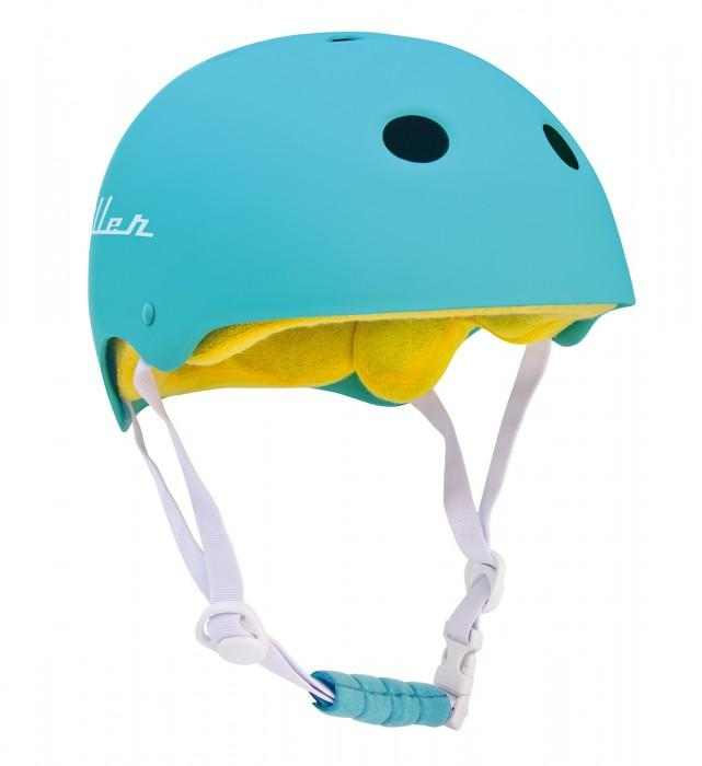 Miller Division Шлем для скейтборда Miller Division Pro Helmet Turquoise M мото шлем icon airmada hoodoo helmet