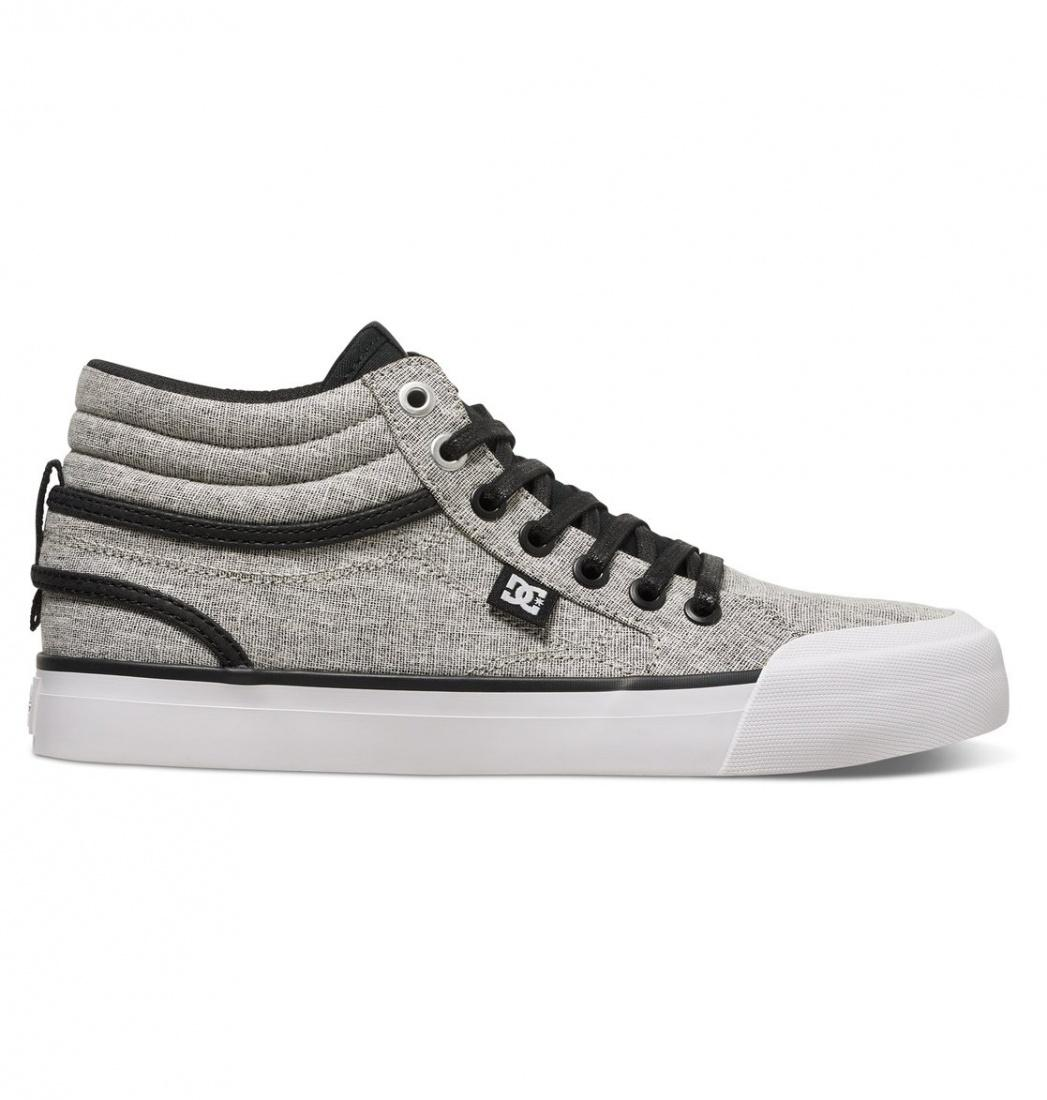 DC SHOES Кеды DC shoes Evan Hi TX SE BLACK/CHARCOAL 6 dc shoes кеды dc evansmith hi tx m shoe bl0 мужские black 11