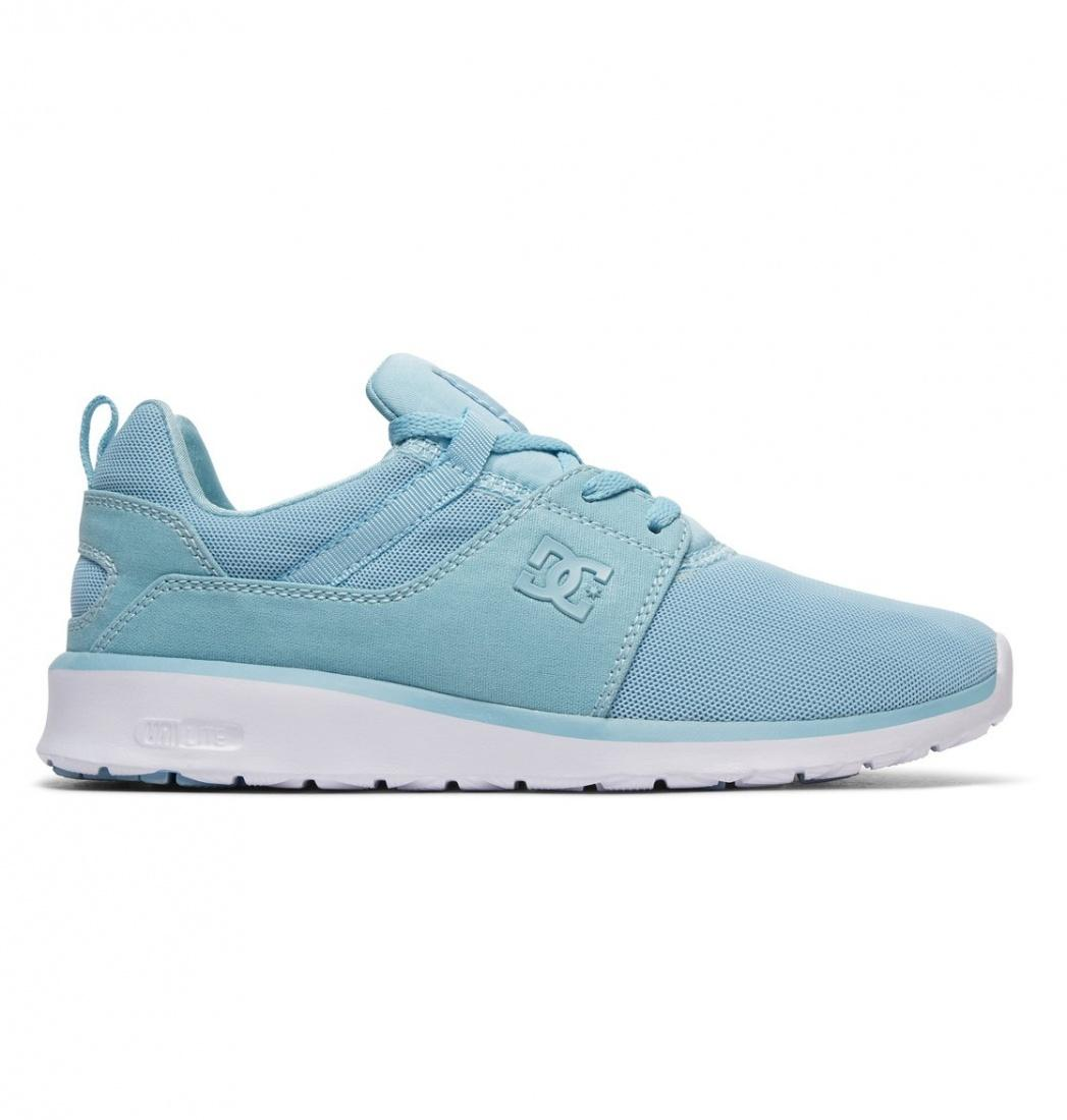 DC SHOES Кроссовки DC shoes Heathrow LIGHT BLUE US 6 кроссовки женские dc heathrow se navy