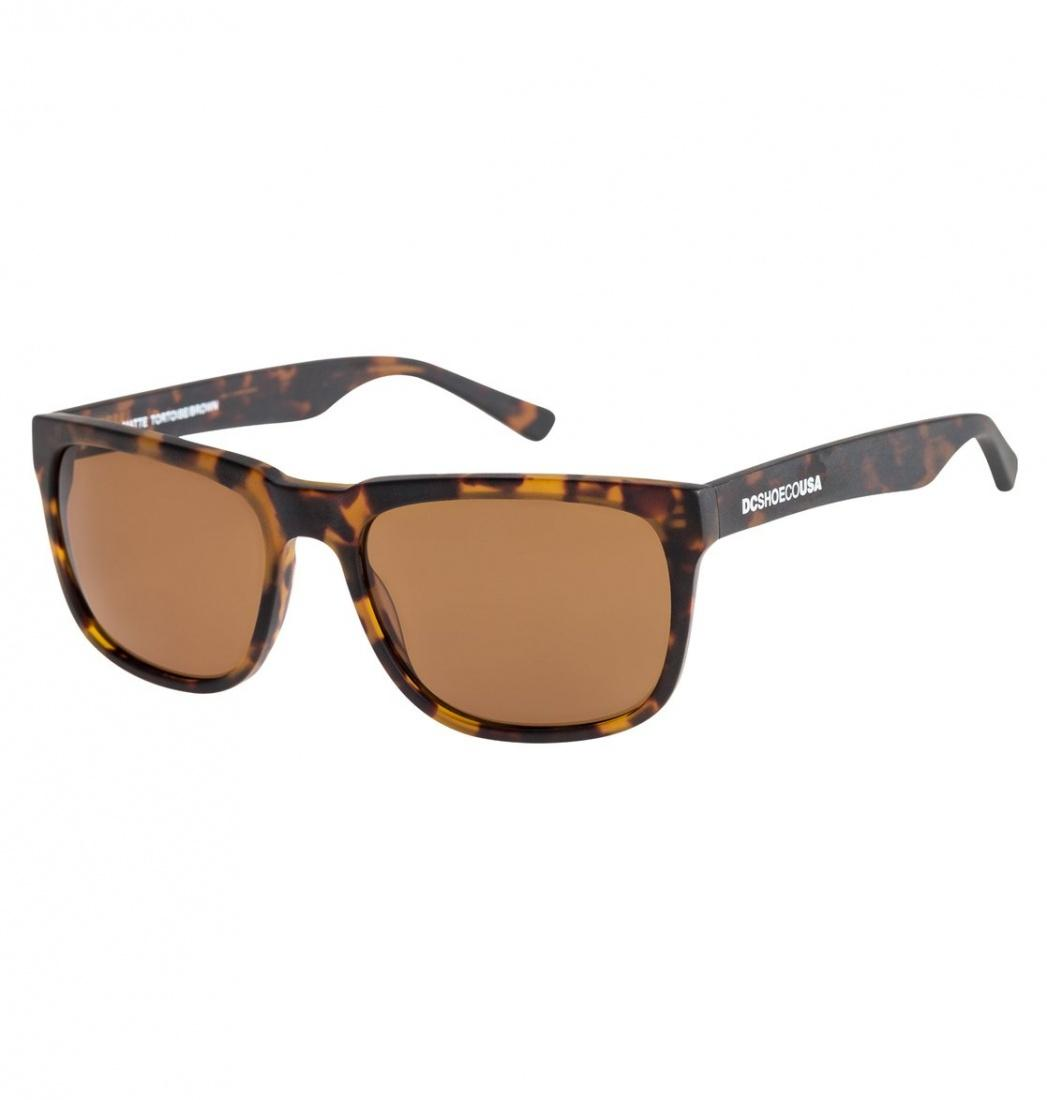 DC SHOES Солнцезащитные очки DC shoes Shades MATTE TORTOISE/BROWN, , FW16 One size dc shoes ремень dc shoes chinook washed indigo fw17 one size