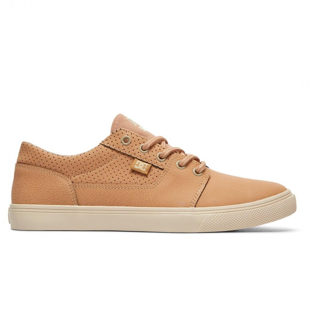 DC SHOES Кеды DC shoes Tonik W LE BROWN/SAND US 6.5 кеды кроссовки низкие женские dc tonik w le black multi
