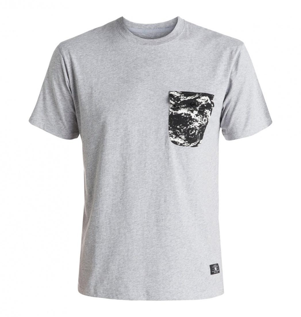 DC SHOES ФУТБОЛКА DC OWENSBORO TEE M KTTP KNFH МУЖСКАЯ GREY HEATHER L