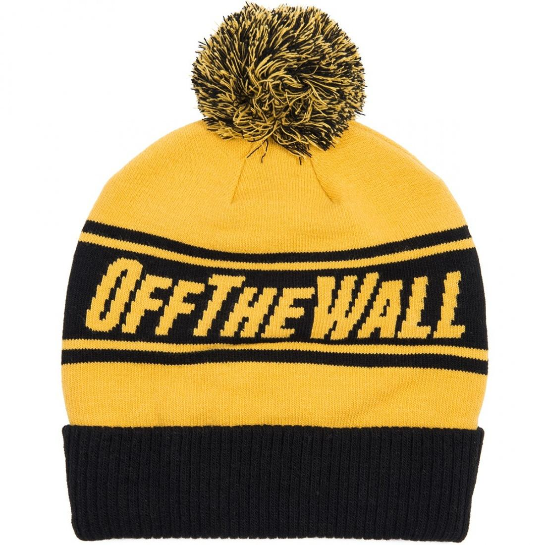 Vans Шапка Off The Wall Pombe Mineral Yellow, , One size