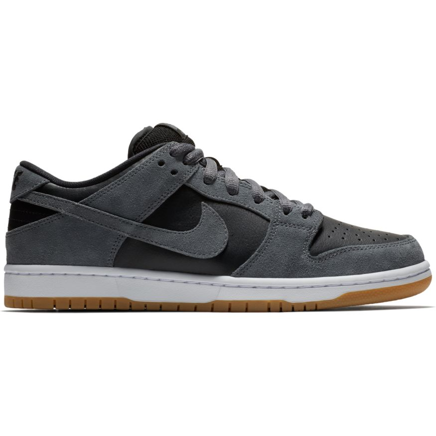 Nike SB Кеды   Dunk Low TRD Black/Grey/white US 11