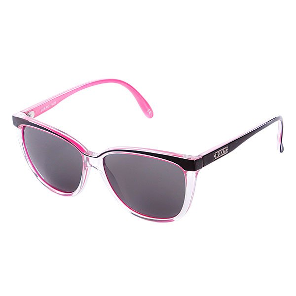 Roxy Очки Roxy Jade Trans Pink/grey, , One size очки женские roxy runaway j pink ml purple