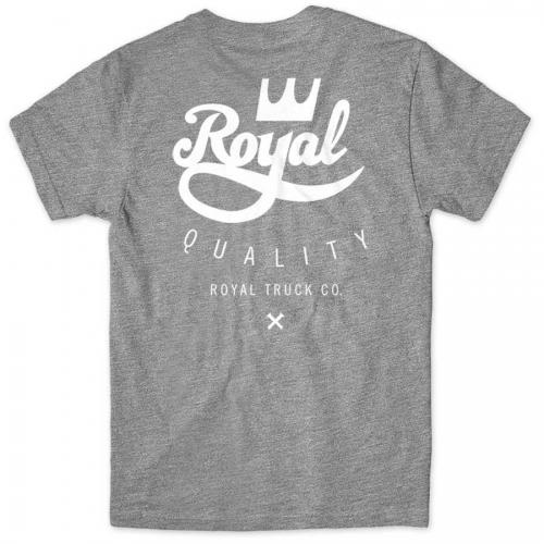 ROYAL TRUCK Футболка Royal Crest Standard Heather Grey L
