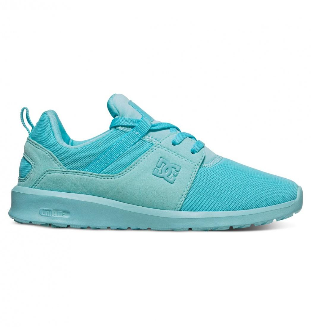 DC SHOES ПОЛУКЕДЫ DC HEATHROW J SHOE MNT ЖЕНСКИЕ MINT 7 dc shoes кеды dc heathrow 8