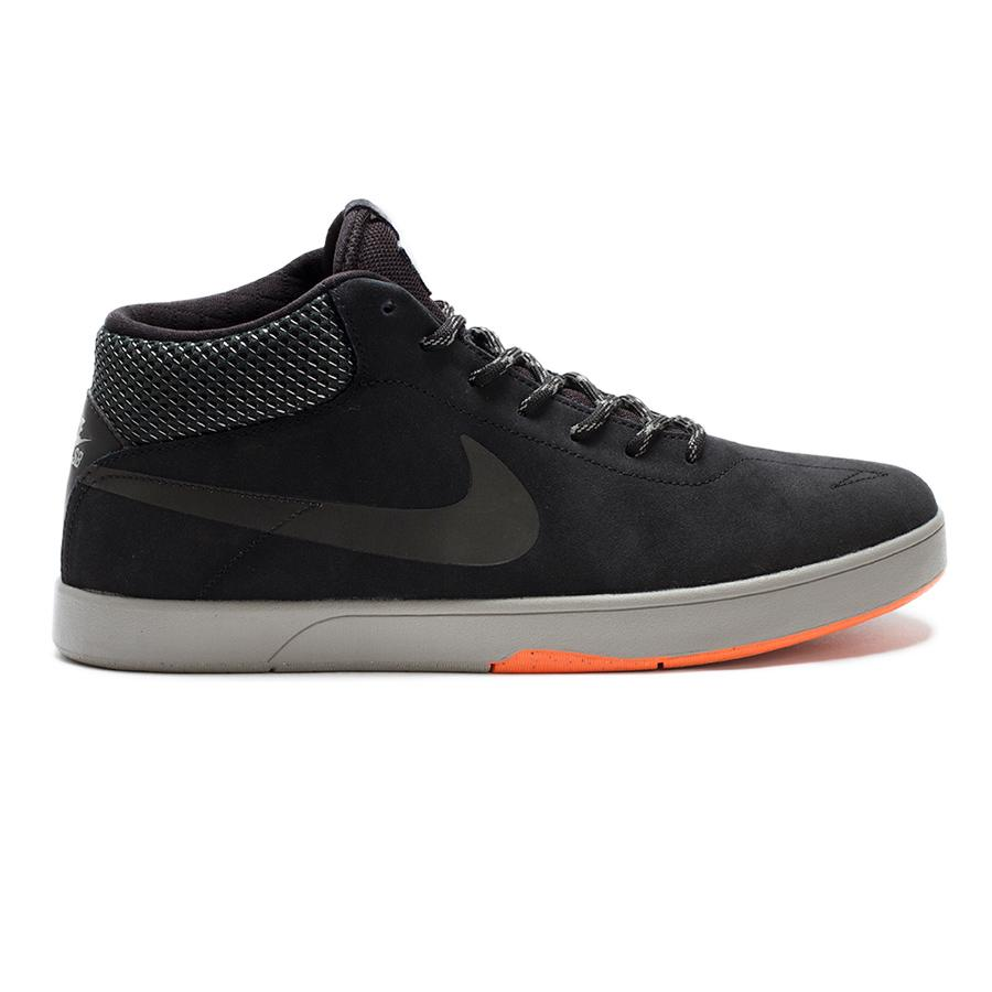 Кеды ERIC KOSTON MID SHIELD (9.5, Black/Hyper Crimson/Black, , ) от Board Shop №1