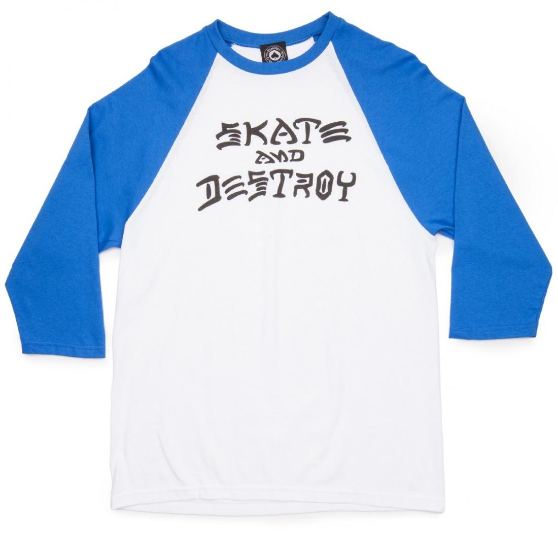 Лонгслив THRASHER SKATE AND DESTROY RAGLAN