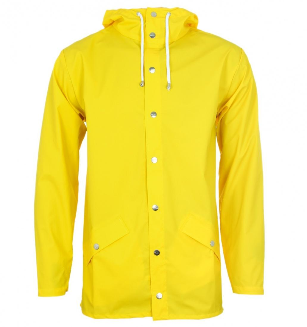 Rains Куртка Rains Jacket Yellow M/L куртка revolution 7286 yellow m