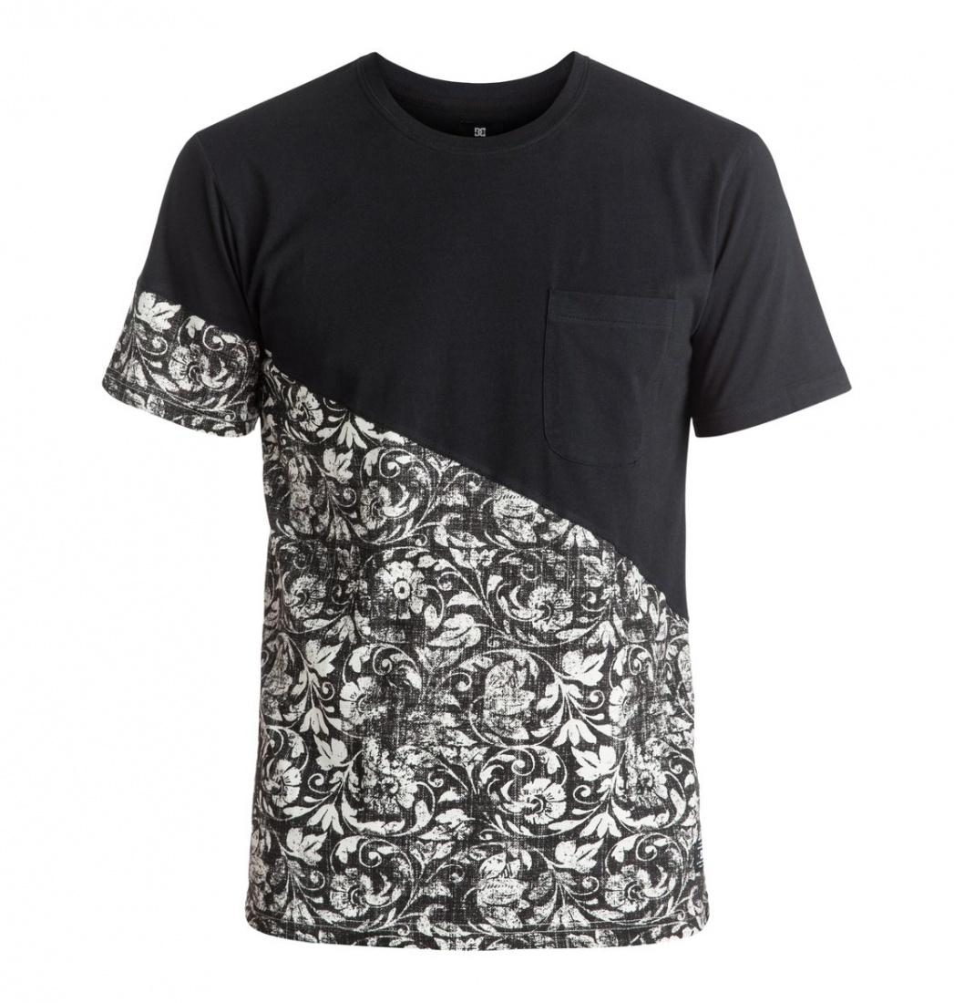DC SHOES ФУТБОЛКА DC BLOOMINGTON TEE M KTTP KVJ2 МУЖСКАЯ BLACK REGAL RAGS S