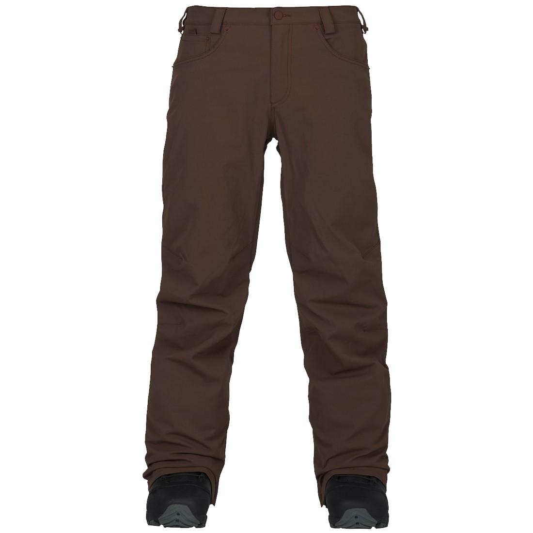 Burton Штаны для сноуборда Burton Wolfeboro Pant Chestnut, , , FW18 S burton термобелье burton midweight base layer pant true black fw18 xl
