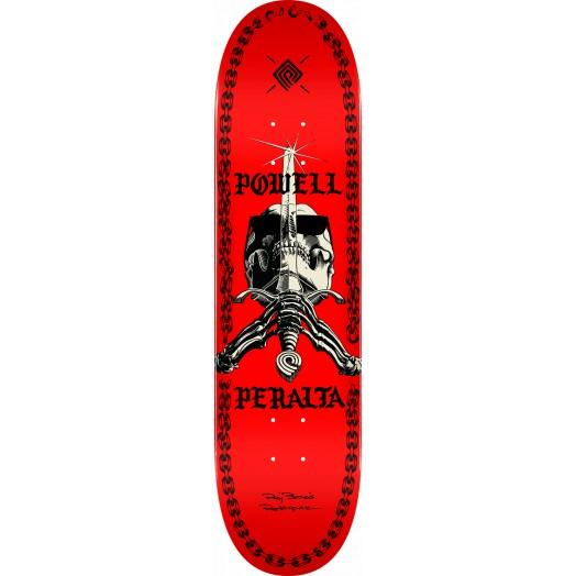 Powell Peralta Дека для скейтборда Powell Peralta Sas Chainz RED 8X31.45 подвеска для скейтборда 1шт ruckus trkrk2126 silver red 5 19 7 см