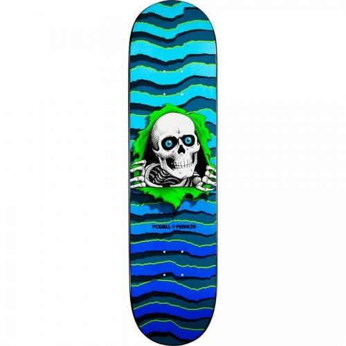 Powell Peralta Дека для скейтборда Powell Peralta New School Ripper Blue 8.25 powell peralta скейтборд в сборе powell peralta micro mini ripper 05 camo 7 5