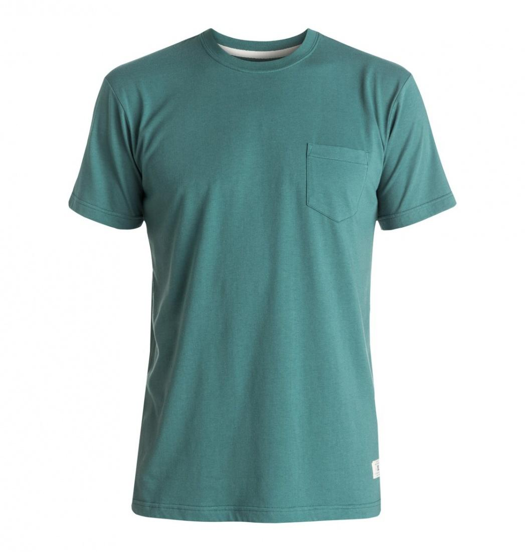 DC SHOES ФУТБОЛКА DC BASIC POCKET M KTTP BPF0 МУЖСКАЯ SEA PINE M stabila pocket basic 17773