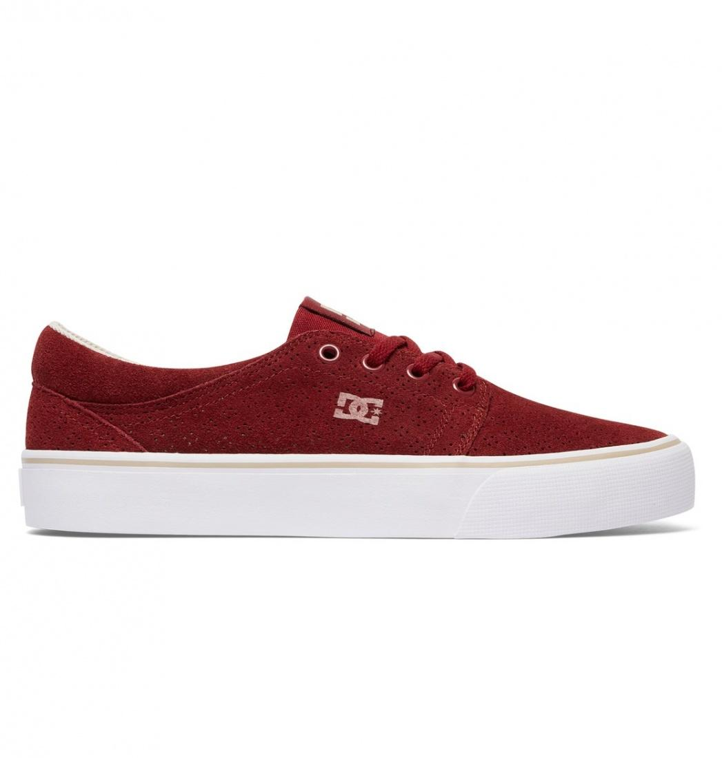 DC SHOES Кеды DC shoes Trase SE BURGUNDY/TAN US 7 dc shoes кеды dc council se navy camel 8