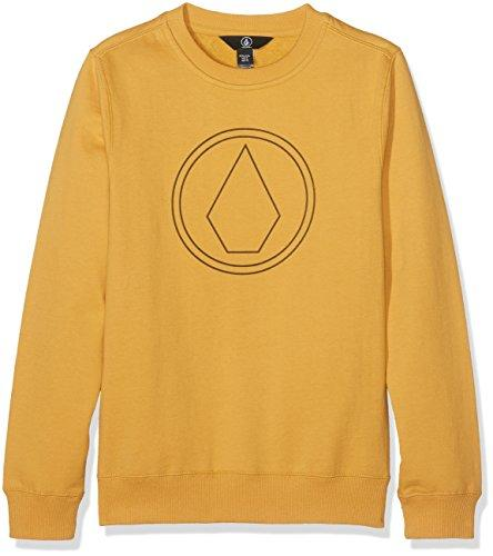 Volcom Свитшот Volcom Stone Crew Fleece DIRT GOLD L volcom футболка volcom true mauve l