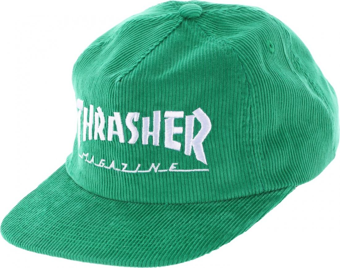 THRASHER Бейсболка Thrasher MAG LOGO CORDUROY Green jinma or weituo tractor with ty290x ty295x the cam shaft gear part number ty290x 03 107