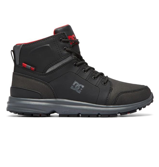 DC SHOES Ботинки DC shoes Torstein BLACK/GREY/RED US 9.5 dc shoes ремень dc shoes chinook washed indigo fw17 one size