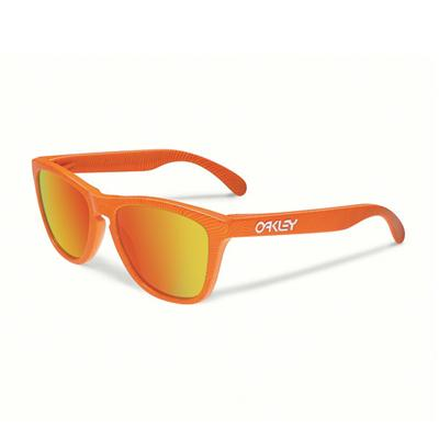 Oakley Очки Oakley Frogskins ATOMIC ORANGE/FIRE IRIDIUM, , , One size купить в Москве 2019
