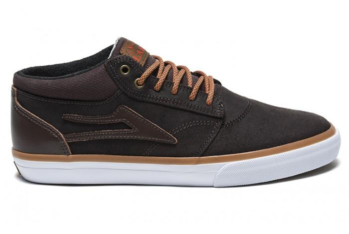 Кеды Griffin Mid AW (10.5, COFFEE OILED SUEDE, , ) от Board Shop №1
