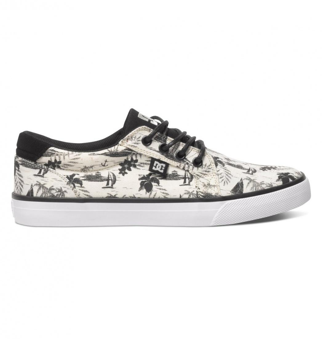 DC SHOES Кеды DC shoes Council BLACK/CREAM US 12 кеды кроссовки высокие dc council mid tx stone camo