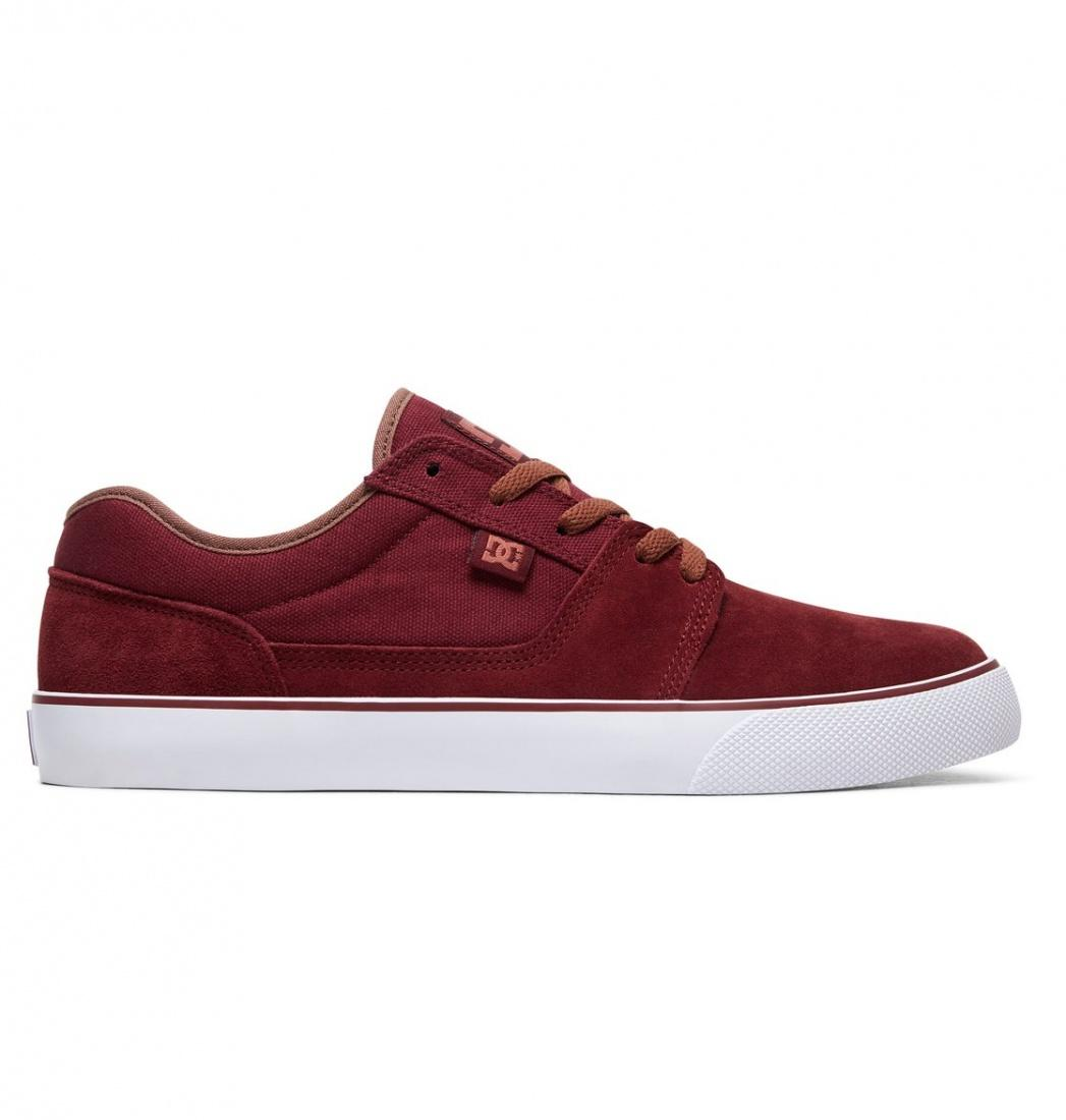 DC SHOES Кеды DC shoes Tonik BURGUNDY US 12.5 dc shoes кеды dc shoes tonik black black 10