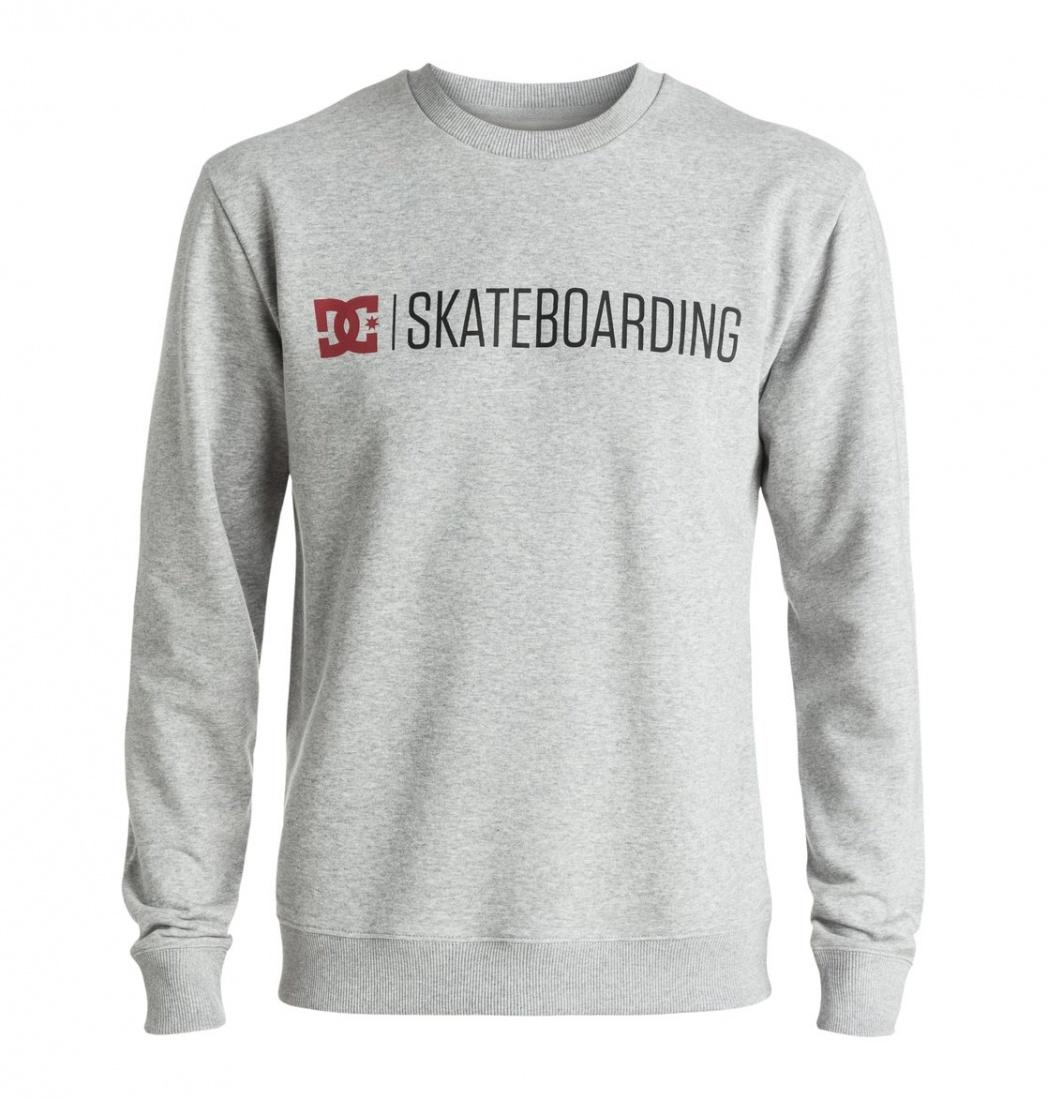 DC SHOES ДЖЕМПЕР DC MINIMAL 16 CREW M OTLR KNFH МУЖСКОЙ GREY HEATHER S рубашка в клетку dc woodale deep dyed heather grey