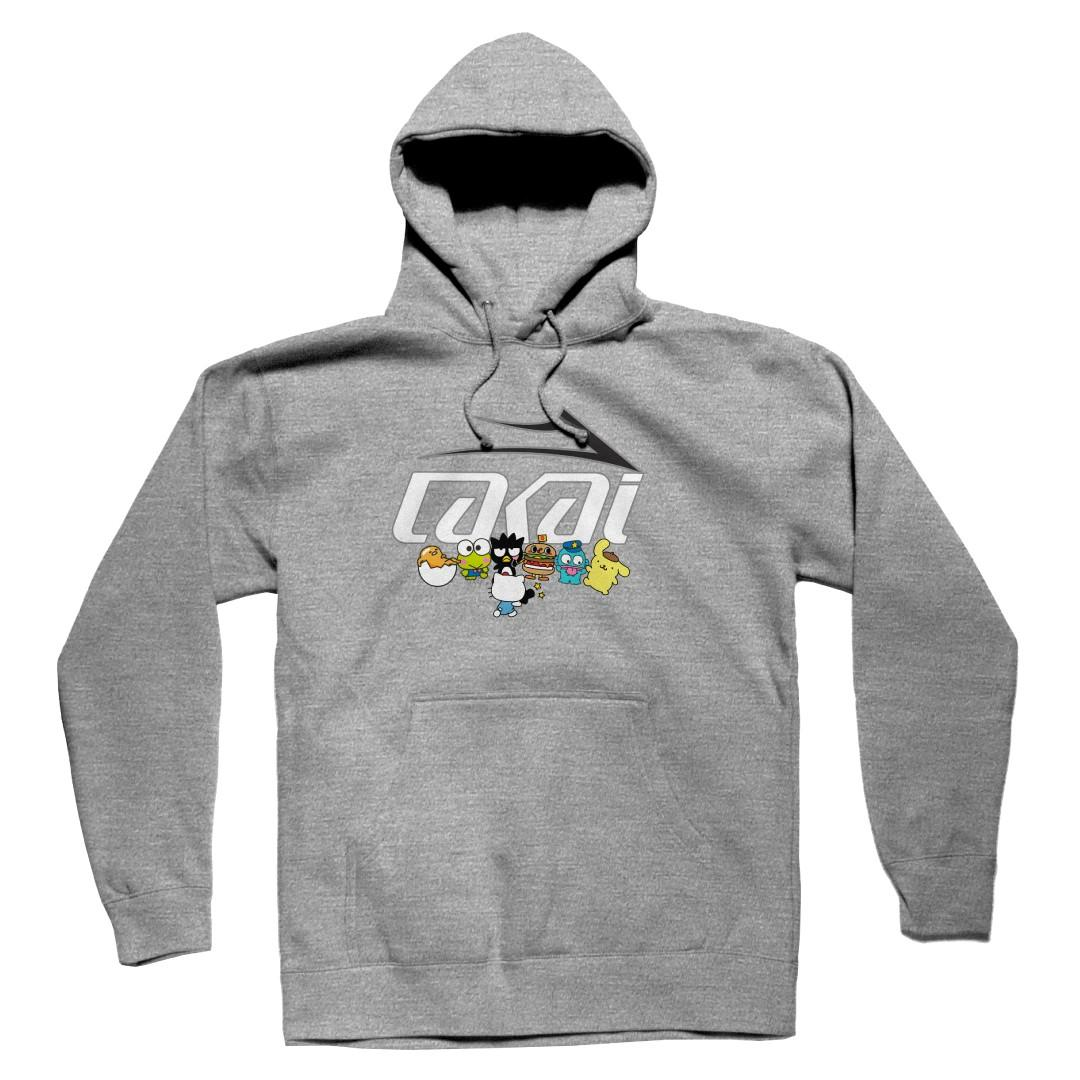 Lakai Толстовка LAKAI GROUP PHOTO PULLOVER (L, Heather Grey, , , )