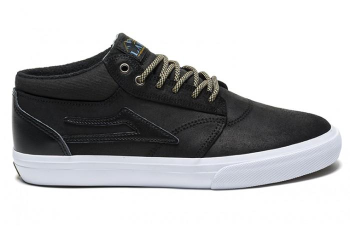 Кеды Griffin Mid AW (10, BLACK OILED SUEDE, , ) от Board Shop №1