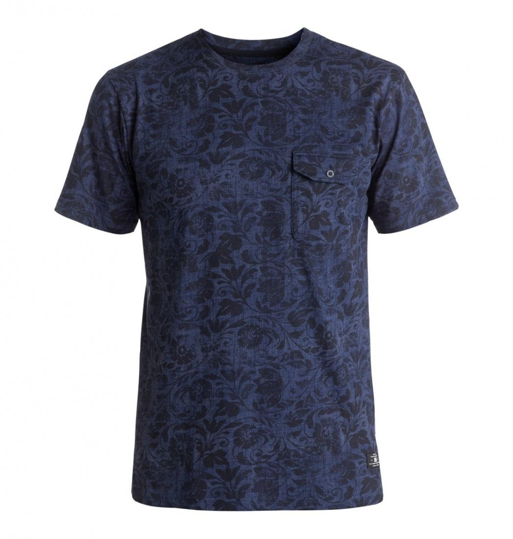 DC SHOES ФУТБОЛКА DC EVANSVILLE TEE M KTTP BRA1 МУЖСКАЯ BLUE REGAL RAGS L