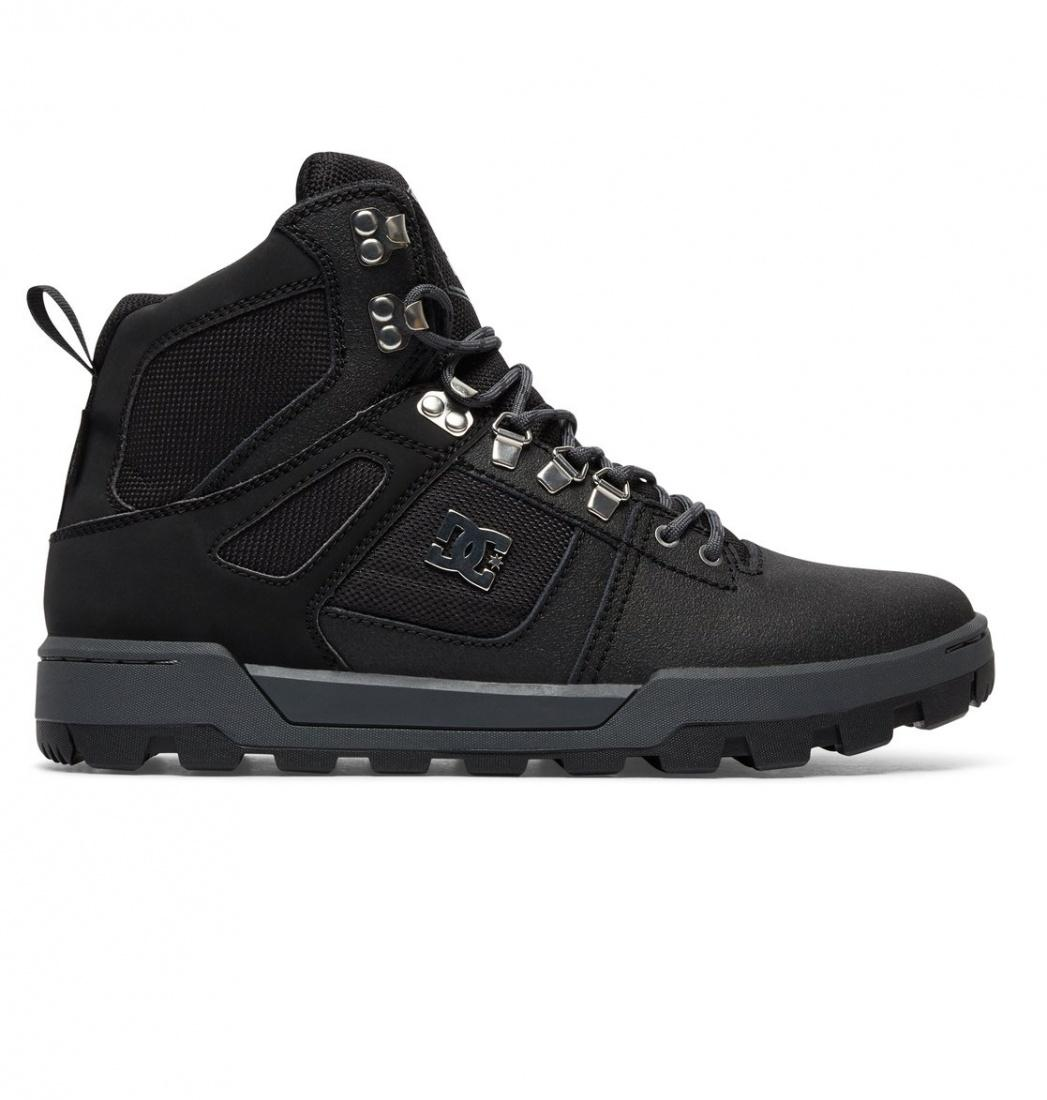 DC SHOES Ботинки DC shoes Spartan High Boot BLACK/BLACK/DK GREY, , FW17 10.5 кеды кроссовки высокие dc spartan high wc black tan