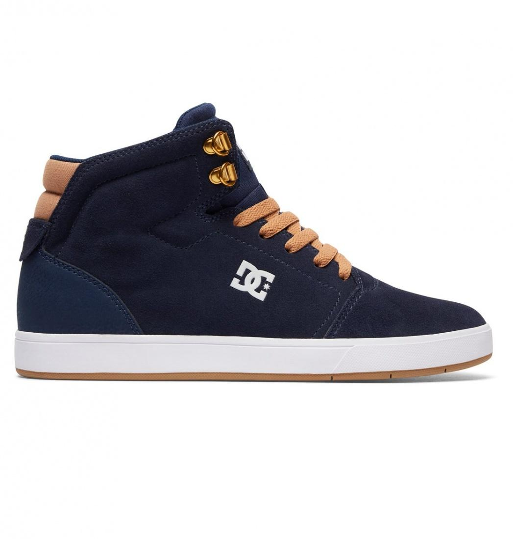 кеды dc shoes кеды crisi high DC SHOES Кеды DC shoes Crisis High NAVY/CAMEL, , FW17 9