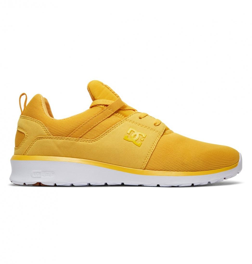 DC SHOES Кроссовки DC shoes Heathrow YELLOW/GOLD US 9 dc shoes полуботнки dc new jack s m shoe bg3 мужские black gold 9