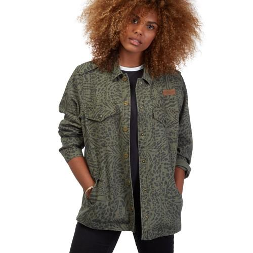 Volcom Куртка Volcom Pretty Wild ARMY GREEN COMBO S cougar 530m army green