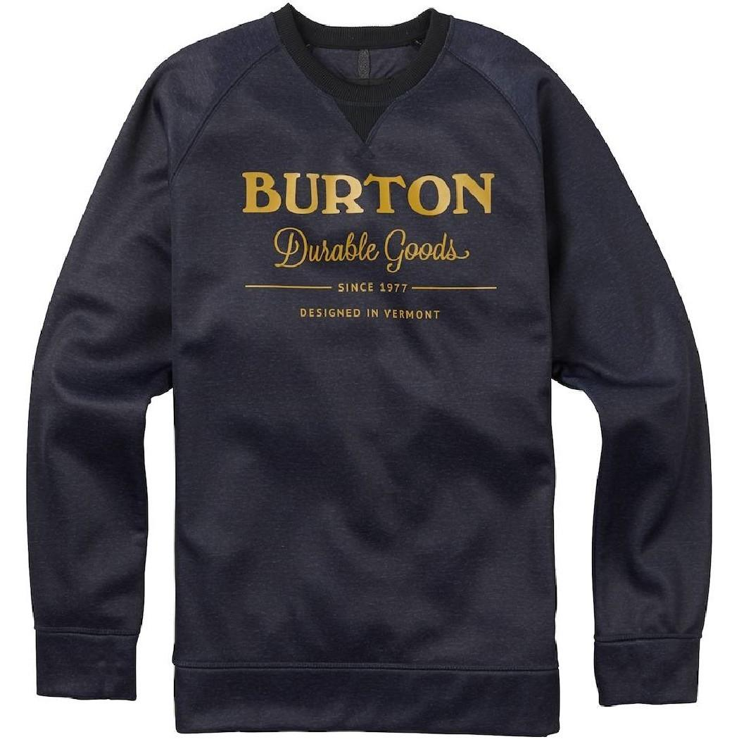 Burton Свитшот Burton Bonded Crew MOOD INDIGO HEATHER S сумка дорожная burton wheelie dbl deck hawaiian heather