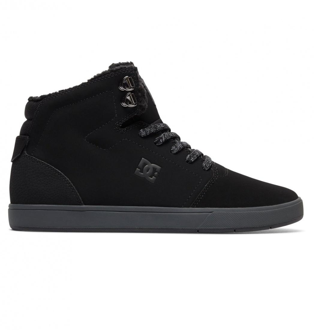 кеды dc shoes кеды crisi high DC SHOES Зимние кеды DC shoes Crisis High WNT BLACK/GREY, , FW17 11.5