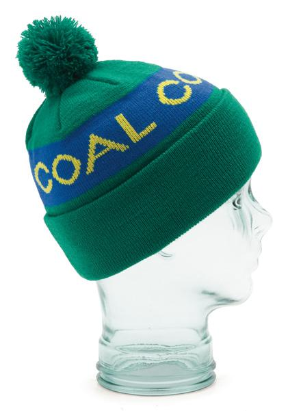 Coal Шапка Coal The Team KellyGreen coal шапка coal the logo royal blue