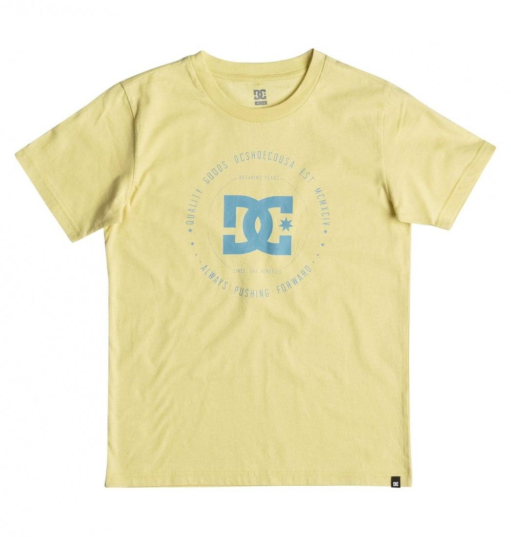 DC SHOES ФУТБОЛКА DC REBUILT 2 SS BO B TEES YEP0 ПОДРОСТКОВАЯ CHARDONNAY 14