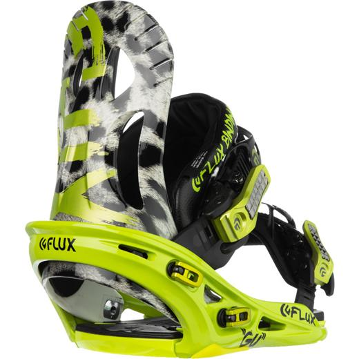 Крепление для сноубордов Flux Bindings Flux Bindings GU Lime Green S M от Boardshop-1