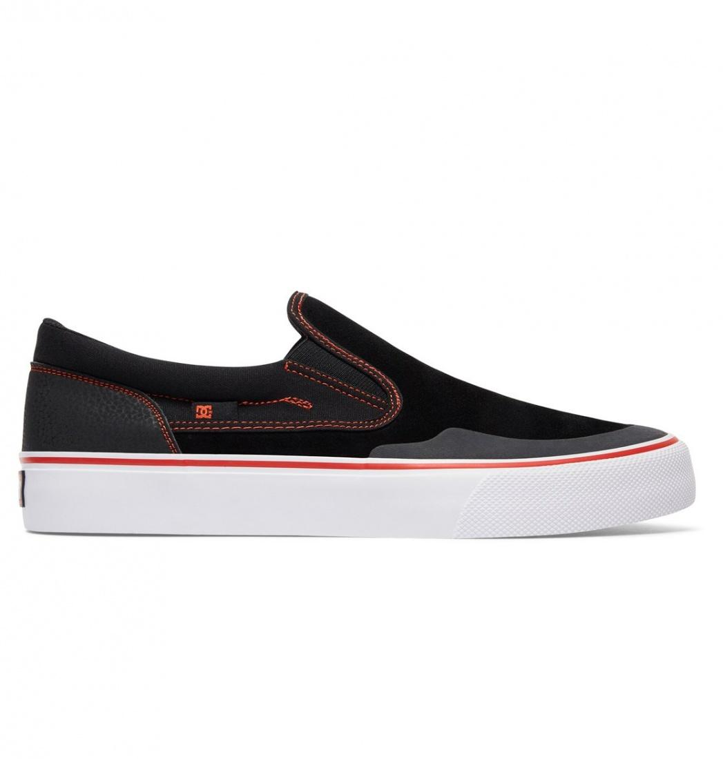 DC SHOES Слипоны shoes Trase S RT BLACK/RED/WHITE 9