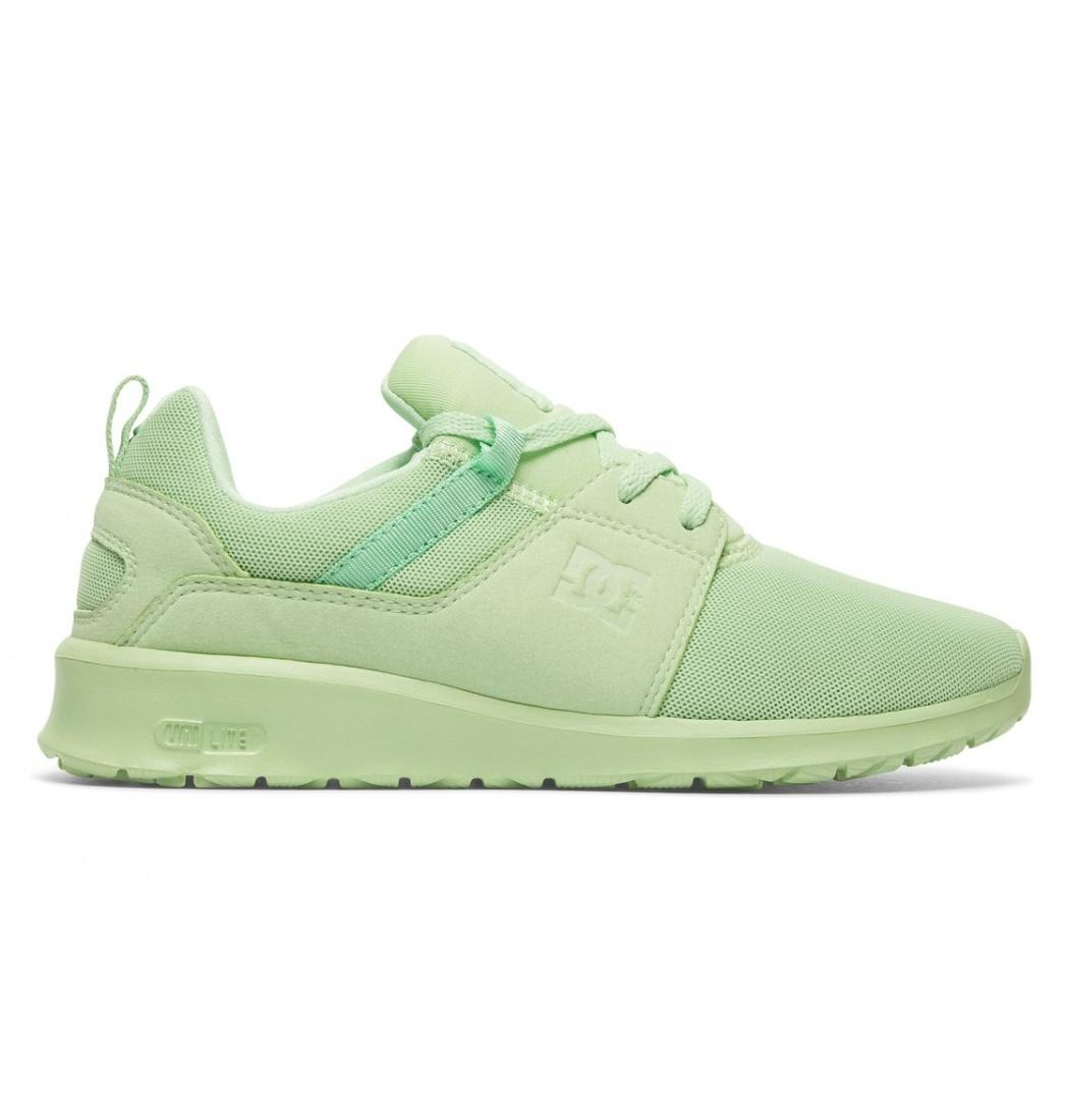 DC SHOES Кроссовки DC shoes Heathrow PISTACHIO GREEN, , FW17 5