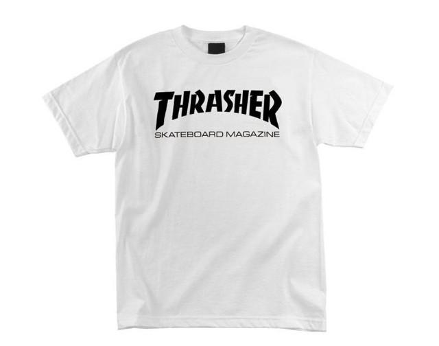 THRASHER Футболка Thrasher Skate Mag White M thrasher наклейка thrasher skate and destroy m