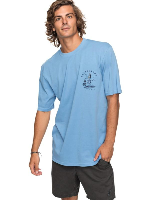 Quiksilver&CO Футболка Quiksilver Curve Love SILVER LAKE BLUE L футболка quiksilver quiksilver qu192emakjn5