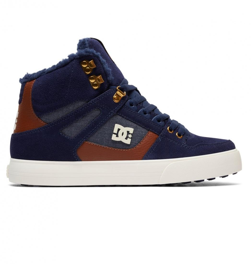 кеды dc shoes кеды crisi high DC SHOES Зимние кеды DC shoes Spartan High WC WNT NAVY, , FW17 11